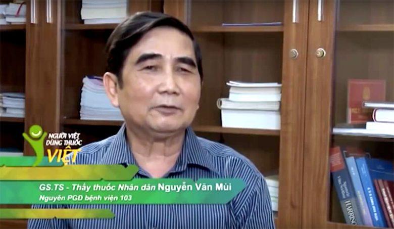 GS. TS Nguyễn Văn Mùi, Nguyên PGĐ kiêm Chủ nhiệm bộ môn Truyền nhiễm, Bệnh viện Quân y 103