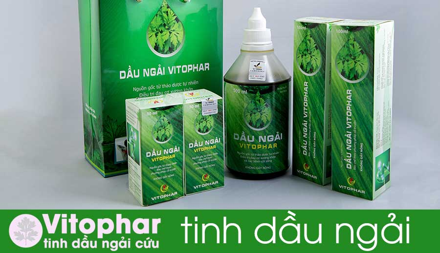 Sản phẩm tinh dầu ngải Vitophar