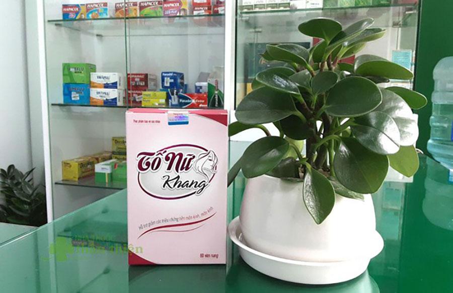 Hình chụp sản phẩm Tố Nữ Khang chụp tại Nhà Thuốc